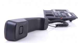 Landline,Off,The,Hook,On,White,Background